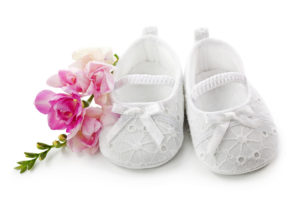christening buffets girls white shoes